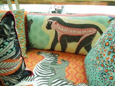 Sofa with Ardmore fabric | by woodfirer