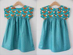 Little Dresses, Girls Dresses, Summer Dresses, Dress Anak, Baby Dress Design, Little Girl Fashion, Sewing Tutorials, Diy Clothes, Designer Dresses