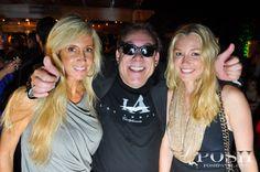 Bill Zucker at the Ocean Drive VIP Party with Cover Model Jessica Gomes at the Delano Beach Club | Posh Panel