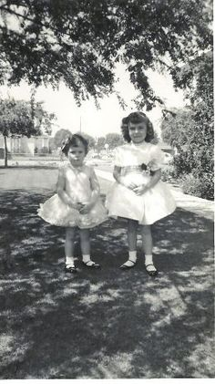 Easter 1960 These outfits look so familiar.