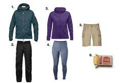 Jaké oblečení si vždycky balím na cesty kolem světa?