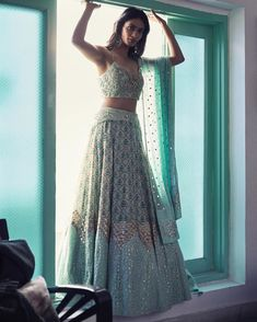 Inaayat : our Mughal printed embellished Lehenga that's perfect for Sanjeet night or a beautiful day wedding. Shot by Anubhav Sood Make… Indian Bridal Outfits, Indian Bridal Lehenga, Indian Designer Outfits, Pakistani Bridal, Punjabi Wedding, Indian Gowns Dresses, Pakistani Dresses, Indian Wedding Dresses, Indian Weddings