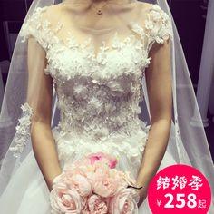 새로운 arrival2017 새로운 긴 꼬리 웨딩 신부 드레스 임신 여성을위한 제나라 워드 어깨 레이스 공주 웨딩 드레스와 결혼