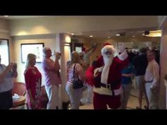 On Christmas Day on board Cunard's Queen Mary 2 Father Christmas boards the ship and has a parade through the ship to the Queens Room where he gives gifts to. Cunard Queen Mary 2, Cunard Ships, Queen Room, Father Christmas, Tips, Bon Voyage, Papa Noel, Advice, Santa Clause