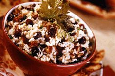 Cranberry Pecan Rice Pilaf Perfect side for Christmas or Thanksgiving
