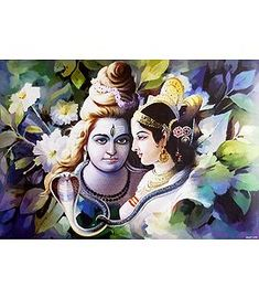 Shiva and Parvati with Ganesha (Reprint on Paper - Unframed) Morning Images, Morning Quotes, Pretty Wallpapers Tumblr, Lord Murugan Wallpapers, Shiva Shankar, Shiva Parvati Images, Shiva Photos, Shiva Linga, Sanskrit Mantra