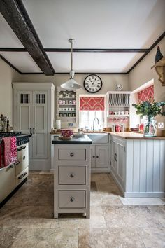 Struggling with a small space kitchen? See how to add style and storage by using every square inch to its fullest potential!
