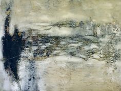 Mixed media on panel 'emma's Chain', by Jeane Myers www.jeanemyers.com