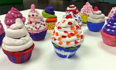 Art with Ms. Gram: Clay Cupcakes (4th)