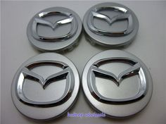 Nice Mazda 2017:  4pcs/lot 56mm Chrome Mazda wheel Center Cap Emblem Badge Fit Mazda ... Places to Visit Check more at http://carboard.pro/Cars-Gallery/2017/mazda-2017-car-tuning-4pcslot-56mm-chrome-mazda-wheel-center-cap-emblem-badge-fit-mazda-places-to-visit/