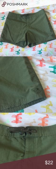 Roxy Board Shorts New without tags.  Olive green  Roxy board shorts  Size 5  :B6-1 Roxy Swim