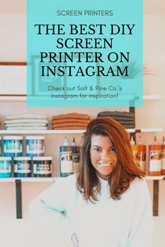 Amanda Dunigan started off with her Cricut and made shirts for the local bar she worked at. Fast forward to now where she's screen printing her own clothing line and for other brands. Check out her Instagram to see what she's doing and read her ebook to get some tips! Creative Christmas Gifts, Holiday Crafts, Christmas Crafts, Diy Screen Printing, Screen Printer, Make Your Own Tshirt, Local Bars, Diy Kits, Amanda