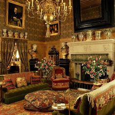 ♛ Baron Guy de Rothschild residence, New York. Interior: Geoffrey Bennison. Photo Elizabeth Heyert #Elegant #Home #Decor #Design ༺༺ ❤ ℭƘ ༻༻ - IrvineHomeBlog.com