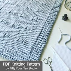 The Graph Paper Blanket KNITTING PATTERN is easy to knit with super bulky weight yarn and big needles. Pattern includes directions for FIVE sizes: Approximate sizes after blocking... Baby/Infant: 30 wide x 35.25 long Small/Crib/Lap Blanket: 37.5 wide x 39.5 long Medium Throw: 41.5 wide by 43.75 long Large Throw: 45 wide x 48 long XL Afghan: 48.75 wide x 56.5 long It is easy to make any of the blankets longer. Tips included in the pattern instructions. *********** SKILL LEVE...