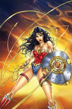 Wonder Woman by Jamie Tyndall