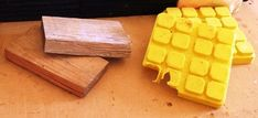 Make your own levelling blocks from barn stall rubber. Rv Leveling Blocks, Barn Stalls, Camping Supplies, Different Textures, Rv Camping, Wood Blocks, Make Your Own, Lake Life, Diy
