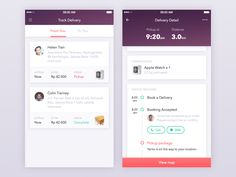 Delivery app by Thomas Budiman