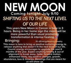 Moon Information, Virtuous Woman, Cancer Moon, July 9th, New Moon, Months In A Year, Affirmations, Encouragement, Spirituality