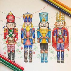 #johnannabasford #johannaschristmas #adultcoloringbook