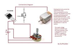 How to build the simplest DC Motor Speed Controller(Using Potentiometer and MOSFET)Updated - YouTube