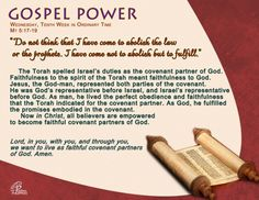 Gospel Power OT 10C – Wednesday