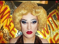 Hedwig and the Angry Inch Makeup Tutorial