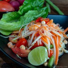 Som Tam Thai is a Healthy & Tasty Thai Salad - It Deserves to be Eaten!