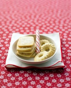 Basic Butter Cookie Dough - One of my all time favorite recipes. Very simple and no rolling needed! Less is more. :-)