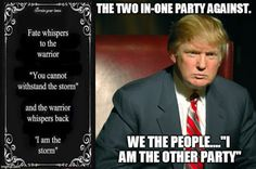 The Communist Manifesto: Trump,playing both ends against the Middle.  Democ...