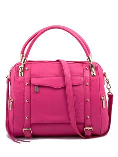 Cupid-Bright Pink w/ Gold Hardware from Rebecca Minkoff. WANT WANT WANTTT
