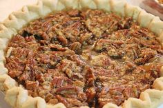Crockpot pecan pie recipe. Anything that can be baked in a crock pot is my kind of recipe !