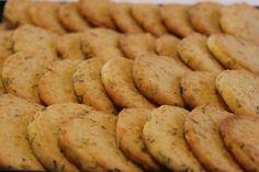 Tarun Taikakakut: Leilan parmesaanikeksit (Leilas parmesankex)