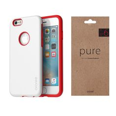 iPhone Case Screen Protector Film Araree Amy Pure White Package for Apple 6s Plus Case, 6 Case, Apple Iphone 6s Plus, Pure White, Screen Protector, Amy, Packaging, Pure Products, Film