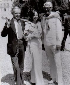 with Leslie Caron and Cary Grant