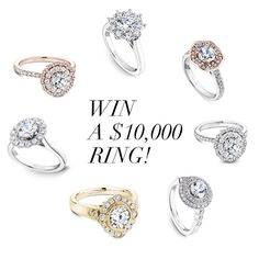 Enter to WIN a one carat custom designed Noam Carver ring worth $10,000 from GMG…