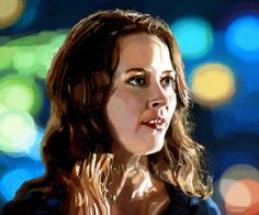 Amy Acker actress -Digital Painting