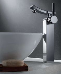 17 modern bathroom faucets that'll make you say WHOA | @offbeathome