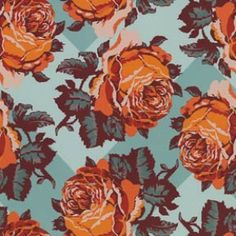 Rose Patch in Break from Loulouthi Flannel by Anna Maria Horner for Westminster/Free Spirit.