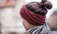min deern: Stirnband | Stricken gegen Winterblues