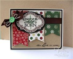 Unto Us A Child Is Born by whiterockmama - Cards and Paper Crafts at Splitcoaststampers