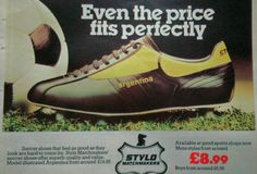 Stylo Matchmaker Argentina Soccer Boots, Football Boots, Soccer Cleats, Argentina Soccer, Vintage Football, Sports Shops, Rock And Roll, Mens Fashion, Boys