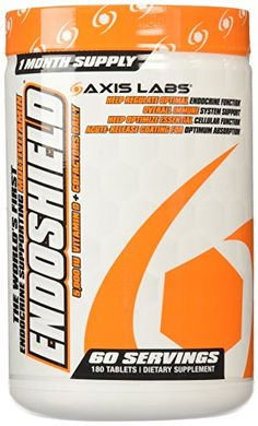 Axis Labs Endoshield MultiVitamin Tablets 180 Count ** Click image for more details.
