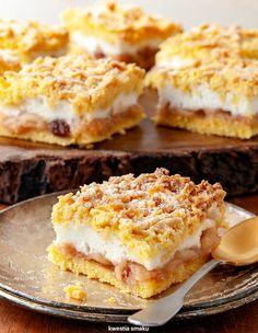 Cake Recipes, Dessert Recipes, Breakfast Menu, Christmas Appetizers, Polish Recipes, Food Cakes, Sweet Desserts, Biscotti, Bakery