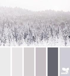 Winter White Moodboard Color Inspiration Grey Tones Neutrals Pretty Color Palette – color of life Bedroom Paint Colors, Bedroom Color Schemes, Bathroom Colors, Colour Schemes, Bathroom Grey, Design Seeds, House Color Palettes, Grey Color Palettes, Winter Color Palettes