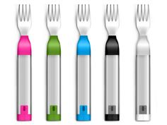 The HAPIfork is an electronic fork that helps you monitor and track your eating habits for weight loss. It measures how long it took you to eat, the amount of fork servings and the time in between servings. It then uploads that info to an app via USB or B Bariatric Eating, Bariatric Recipes, Bariatric Surgery, Diet Recipes, Gastric Sleeve Surgery, Gastric Bypass Surgery, Sleeve Gastrectomy, Before And After Weightloss, Weight Loss Surgery
