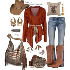Cowgirl styled by Cassidy Magazine