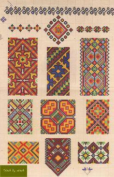 Knitting Stitch Embroidery Patterns : ?????????? ?????????? ????????? ???????. ???? Pinterest Cross stitch, E...