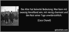 Zitat - Coco Chanel