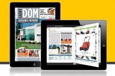 """Poradnik budowlany """"Ładny Dom"""" to nowoczesny magazyn na temat budowy i remontu domów. Wydawca: Agora SA, Wersja iOS."""