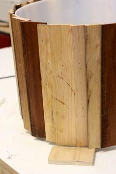 Affix Wood to Barrel - Method 2